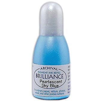 Brilliance Ink Refill .7oz-Pearlescent Sky Blue