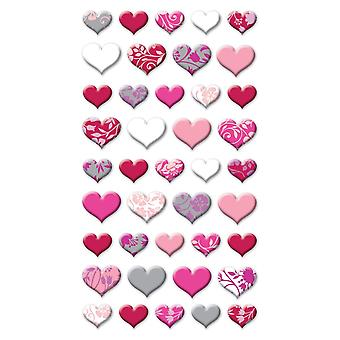 Sticko Stickers-Lovely Hearts