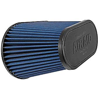 Airaid 723-128 Universal Clamp-On Air Filter: Oval Tapered; 4.5 in (114 mm) Flange ID; 7.25 in (184 mm) Height; 11.5 in