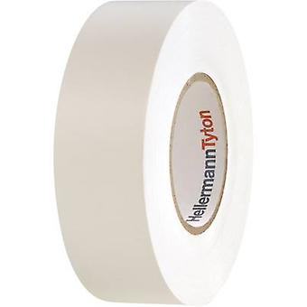 HellermannTyton 710-10607 Electrical tape HelaTape Flex 1000+ White (L x W) 20 m x 19 mm 1 Rolls