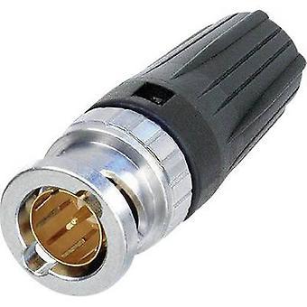 BNC connector Plug, straight 75 Ω Neutrik NBNC75BDD6 1 pc(s)