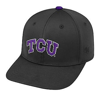 TCU Horned Frogs NCAA SCHLEPPTAU Black Stretch ausgestattet Hat Auswirkungen