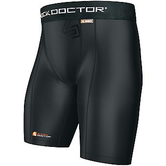 Shock Doctor Boy's Core Compression Shorts - Black