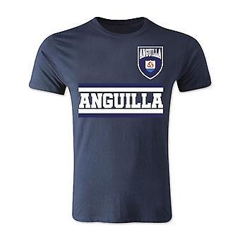 Anguilla Core fodbold land T-Shirt (Navy)