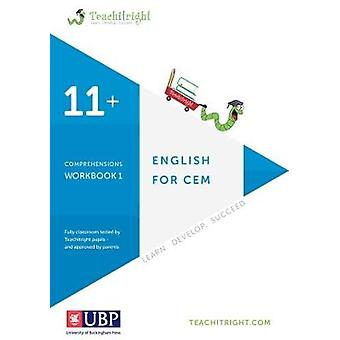 Verbal Ability for Cem 11 + - Comprehension Tests Workbook (Teachitrig