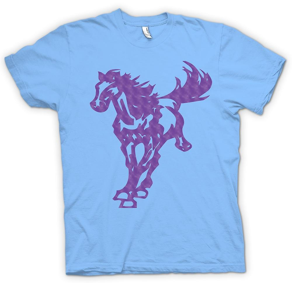 Mens t-shirt - cavallo al galoppo - Cool