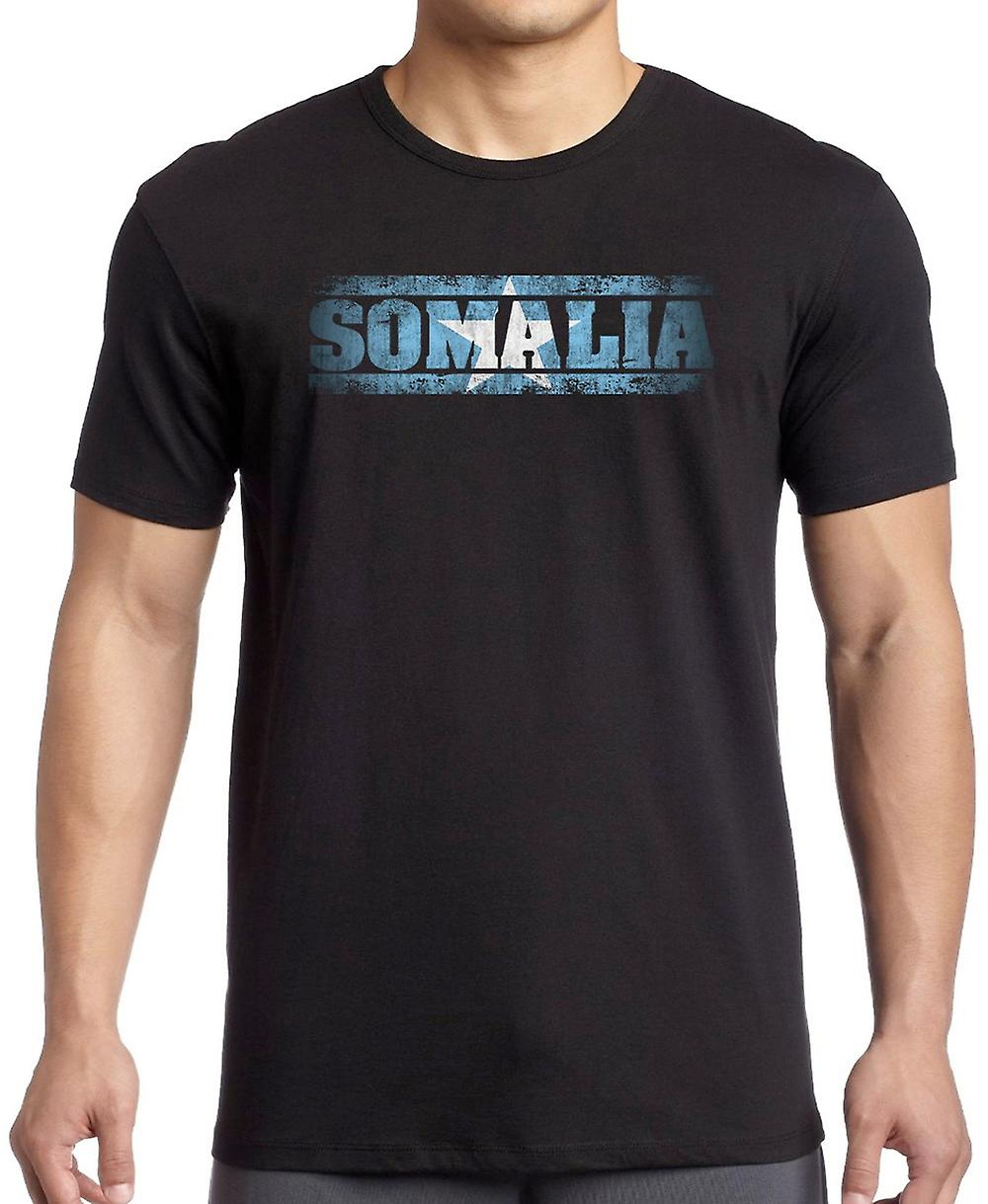 Somalia Flag - Words T Shirt