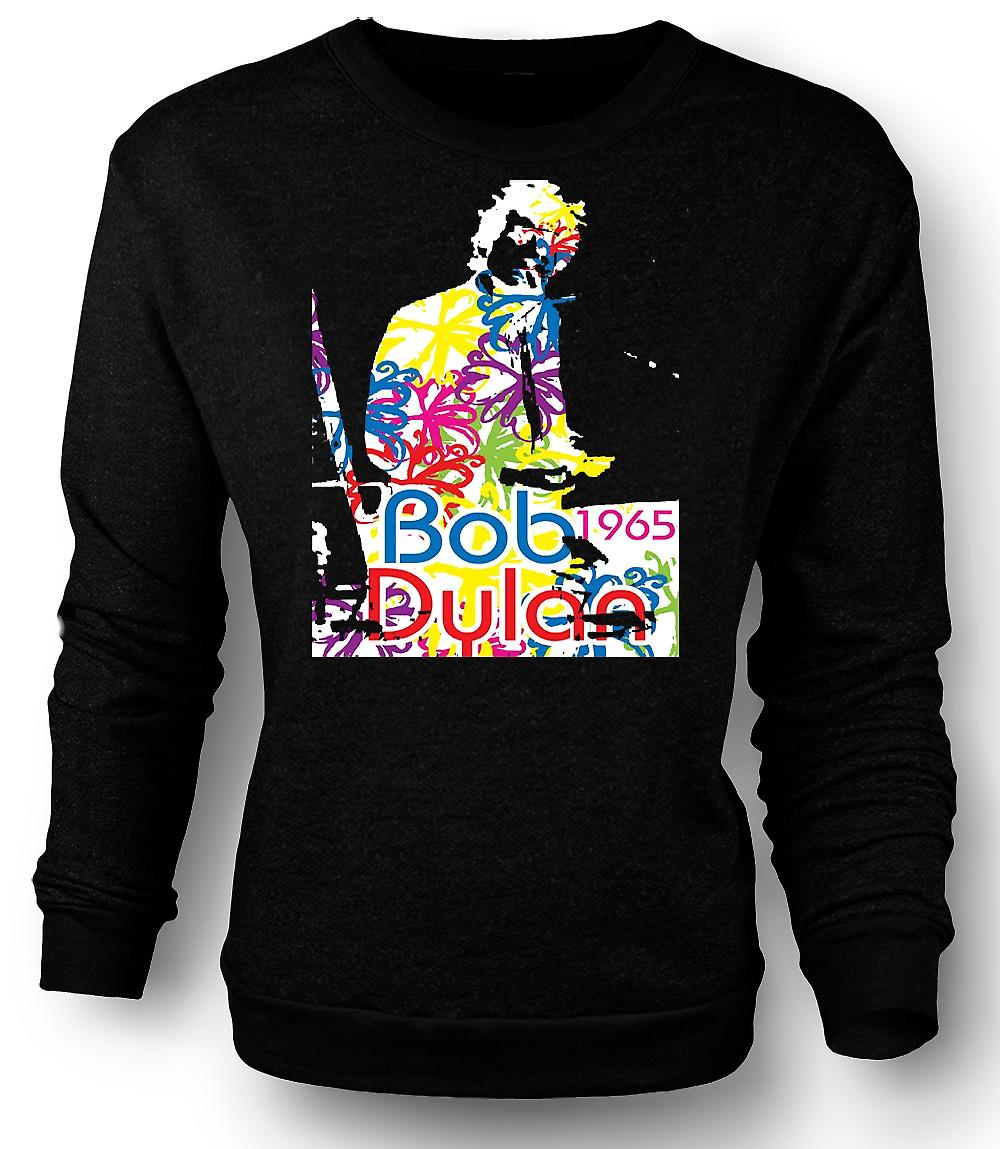 Heren Sweatshirt Bob Dylan 1965 - psychedelische