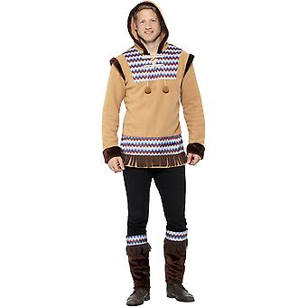 Inuit Eskimo men's costume Carnival Arctic man costume