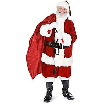 Santa con saco (Navidad) - recorte de cartón de tamaño natural / pie