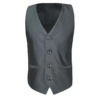 Boys Silver Waistcoat