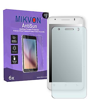 Archos 50c Helium 4G Screen Protector - Mikvon AntiSun (Retail Package with accessories)