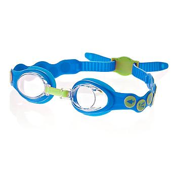 Speedo Sea Squad Spot Kids Swim Goggle- Blue/Green - 2-6 years
