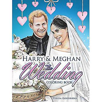 Harry and Meghan The Wedding Coloring Book