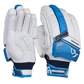 Kookaburra 2019 Rampage 2.0 Cricket Batting Gloves White/Blue