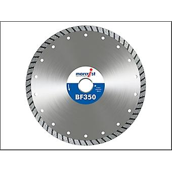 Marcrist Bf350 Turbo Diamond Blade 115mm X 22.2mm