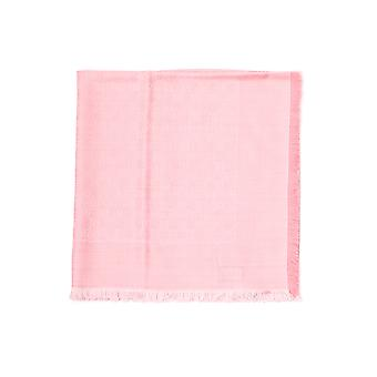 Gucci Pink Cotton Scarf