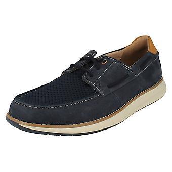 Mens Clarks Unstructured Deck Shoes Un Pilot Lace