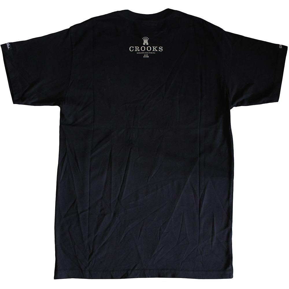 Crooks & Castles Presi T-Shirt Black