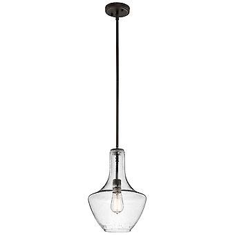 Elstead-1 luce piccolo ciondolo-Olde bronzo-KL/EVERLY/P/S OZ