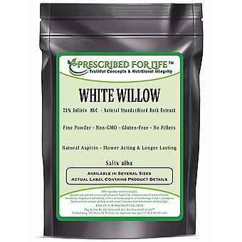 White Willow - 25% Salicin (HLC) - Natural Bark Extract Powder (Salix alba)