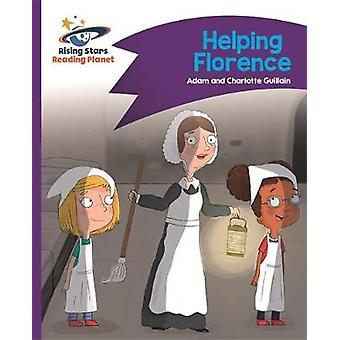Reading Planet - Helping Florence - Purple - Comet Street Kids by Adam