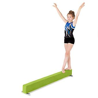 Fun!ture® Lime Faux Suede 6ft Long Gymnastics Practice Balance Beam