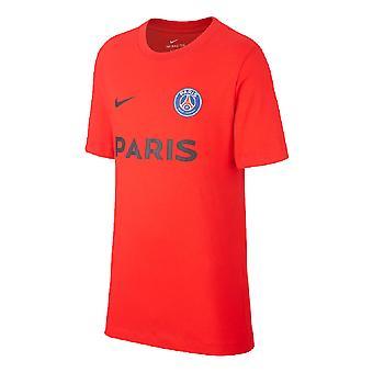 2019-2020 PSG Nike Core Tee (Red)