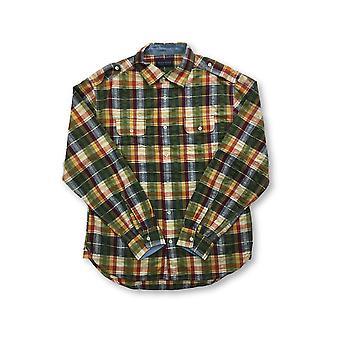 Agave Deni Ex Patriot shirt in ulti colour tartan