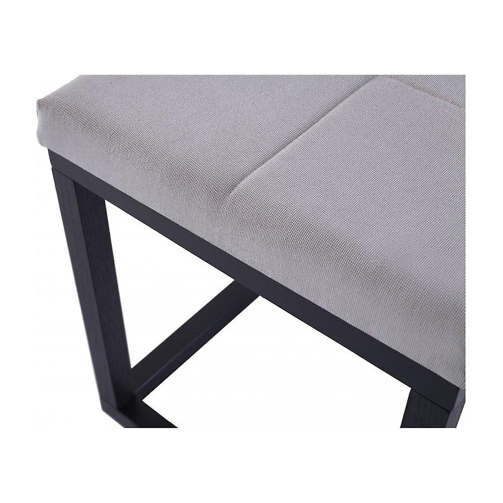 Gillmore Space Wenge Upholstered Large Bench
