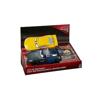 Disney Cars Cars 3 Race N Flip (Cruz Ramirez & Jackson Storm)