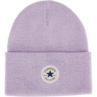 Converse alle Star AW17 strikket Beanie lue Lilac 04