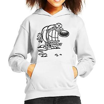 Grimmy Doctor Kid's Hooded Sweatshirt
