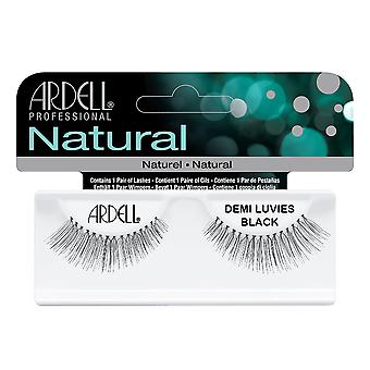 Ardell Natural Demi Luvies Black Easy To Apply Full False Eye Lashes