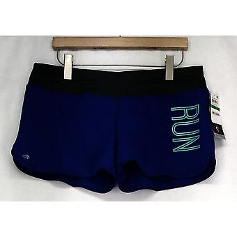 Ideaology Shorts Running Athletic Wear Shorts w/ Built-In Briefs Purple