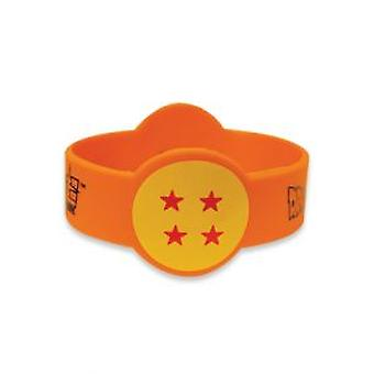 Armband - Dragon Ball Super - 4-Sterne Ball PVC Band ge54503