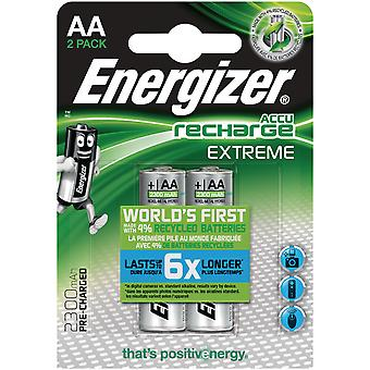 Energizer Rechargeable battery NiMH 2 blister (Bricolaje , Electricidad)
