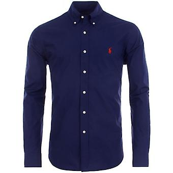 Ralph Lauren Polo Shirt Homme SÉlin Poplin Performance Slim Fit