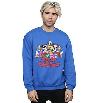 Disney Men's Mickey Mouse And Friends Christmas Sweatshirt