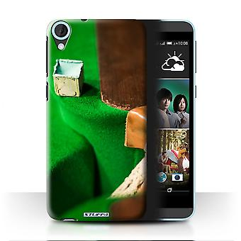 STUFF4 Case/Cover for HTC Desire 820G+ Dual/Chalk/Pocket/Snooker