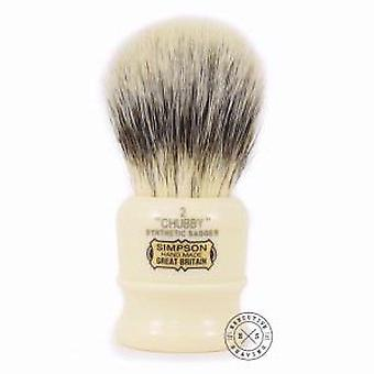 Simpson Chubby 2 Synthetic Fibre Shaving Brush