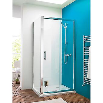 Premier Pacific 1700mm Sliding Shower Door – 6mm Thick