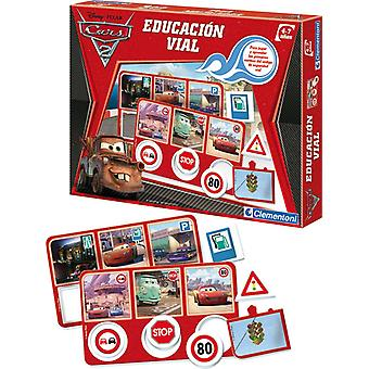 Clementoni Education Road Cars 2 (Toys , Boardgames , Magic)