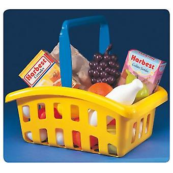 Molto Shopping basket + food (Toys , Home And Professions , House , Food)
