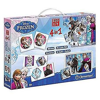 Clementoni Edukit 4 in 1 Frozen (Toys , Educative And Creative , Electronics)