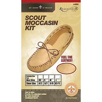Leathercraft Kit-Scout Moccasin - Size 6/7 C4604-02