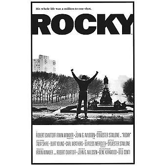 ロッキー映画ポスター印刷 (27 × 40)