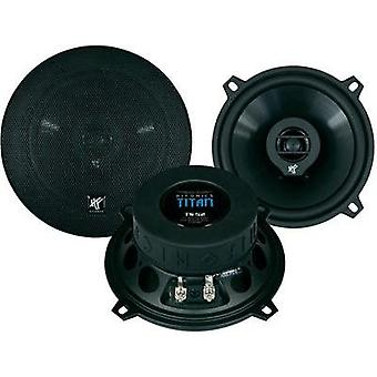 2 way coaxial flush mount speaker kit 150 W Hifonics Titan