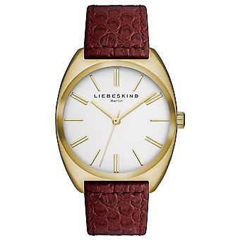 LIEBESKIND BERLIN ladies watch wristwatch leather LT-0012-LQ