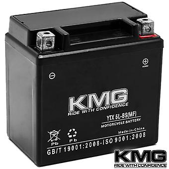 KMG® KTM 250 XCF 0-2011 YTX5L-BS Sealed Maintenace Free Battery High Performance 12V SMF OEM Replacement Maintenance Free Powersport Motorcycle ATV Scooter Snowmobile KMG